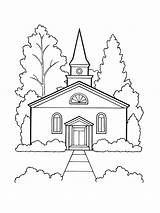 Church Building Drawing Lds Coloring Worship Pages Drawings Faith Library Outline Draw Christ Illustration Primary Jesus 11th Getdrawings Libra Scale sketch template