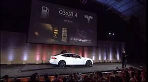 Tesla Ouvre Sa Premire Station D39change De Batterie