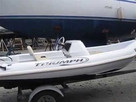 Triumph Boats Youtube by 2005 Triumph 120 Center Console Youtube