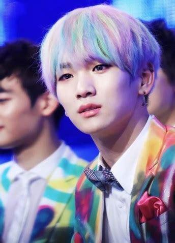 rocks rainbow hair kpop male edition updated