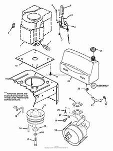 Snapper Yz15384bve 38 U0026quot  15 Hp Ztr Yard Cruiser Series 4 Parts Diagram For Engine Components