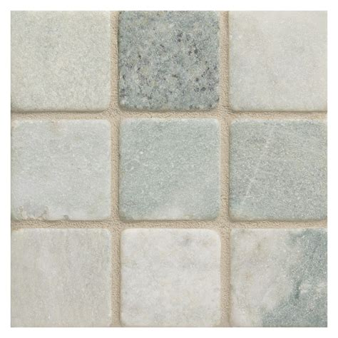 ming green marble tile marble mosaic tile 2 quot square ming green tumbled