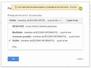 google drive modification de partage With partage de documents google drive