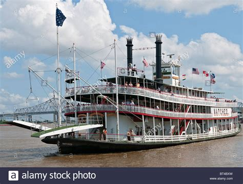 Steamboat Natchez by Louisiana New Orleans Steamboat Natchez Mississippi
