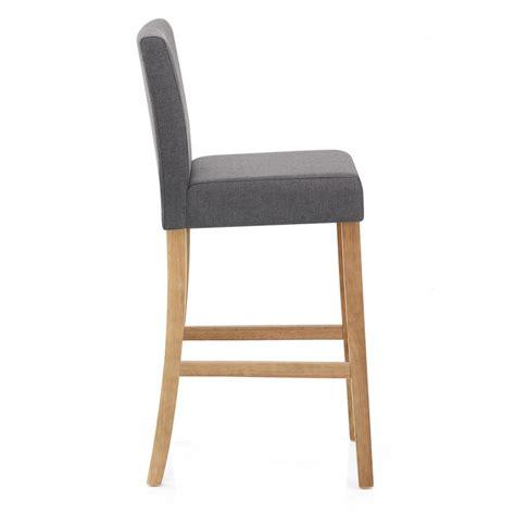 chaises tissus chaise de bar bois et tissu cornell monde du tabouret