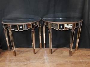 Console Ameublement : meubles miroir archives antiquites canonbury ~ Melissatoandfro.com Idées de Décoration