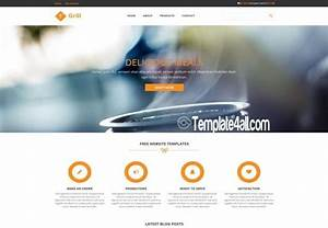responsive restaurant css template download With html templates free download