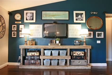 Pottery Barn Living Room Gallery by 5 Tips For Decorating Around A Television Home Stories A