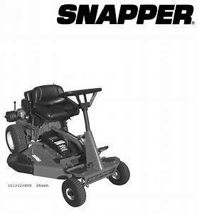 Briggs  U0026 Stratton Lawn Mower 7800105 3012523bve User Guide