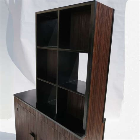 divider cabinet for sale stepped room divider cabinet attributed to paul frankl for