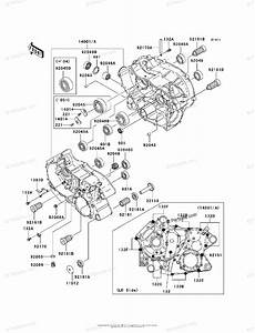 Kawasaki Atv 2005 Oem Parts Diagram For Crankcase