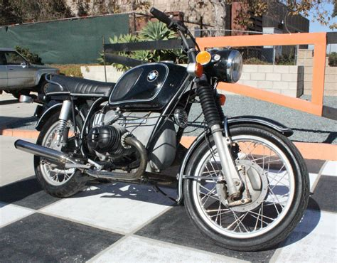 1972 Bmw Airhead R75/5 Motorcycle All Original Runs Great R75
