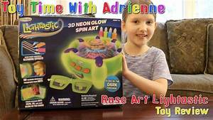 Where Light Glasses Review Lightastic 3d Neon Glow Spin Art Toy Review From Rose
