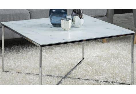 couchtisch glas chrom gestell couchtisch alisma in glas wei 223 und marmoroptik gestell chrom beistelltisch tisch ebay