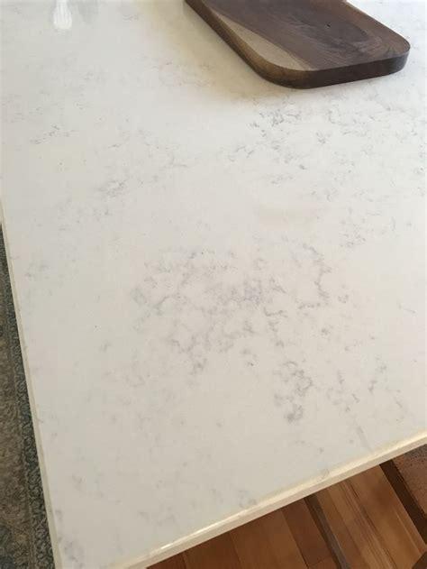 quartz countertops  calacatta vicenza  eased edge profile  albemarle countertop