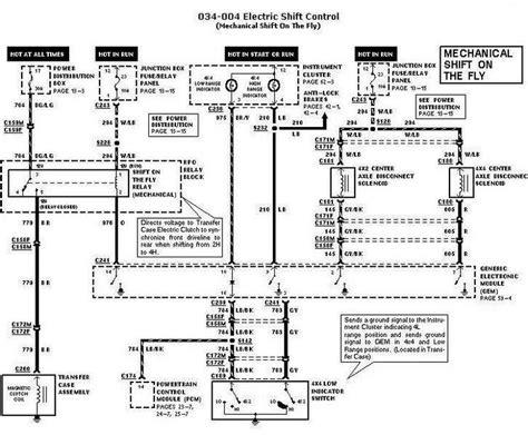 Transfer Case Electrical Fonline Forums