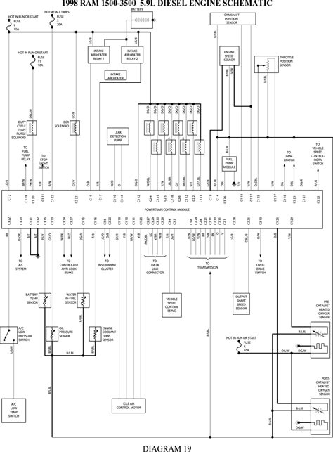 2000 Dodge Ram 1500 Wiring Schematic by Repair Guides