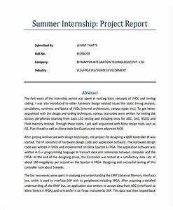 Free 32  Project Report Examples  U0026 Samples In Google Docs
