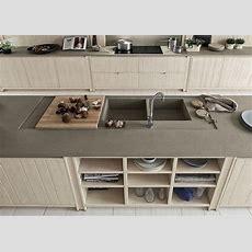 Keramik In Der Küche Arbeitsplatte Und Spüle Settele