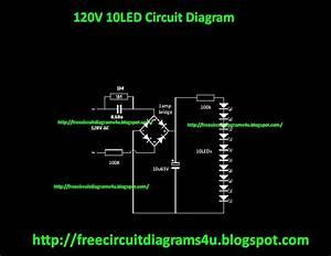 Free Circuit Diagrams 4u  120v 10 Led Circuit Diagram