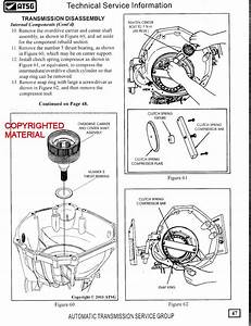 Ford Trucks 4r100 Transmission Rebuild Manual 1998