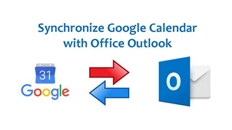 How To Synchronize Google Calendar With Outlook 365 2016