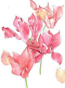 color roses watercolour flowers by kiriaki on deviantart