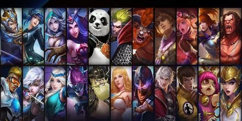 Mobile Legends Heroes & Tier List 2018