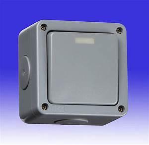 10a 1 Gang 2 Way Weatherproof Light Switch - Ip66