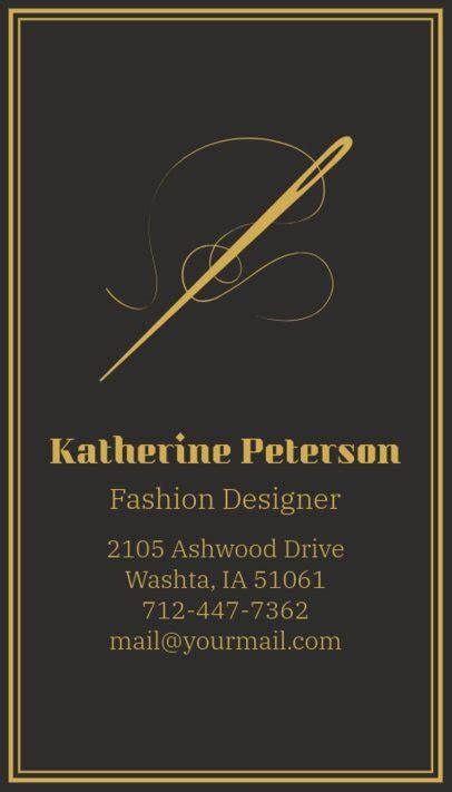 placeit  business card maker  fashion designer