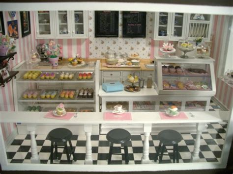 cupcake shop  stewart dollhouse creations