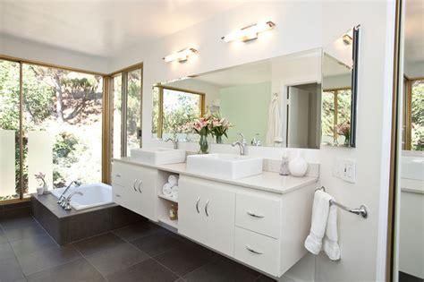 Modern Luxury Spa Tub Bathroom Remodel  Modern Bathroom