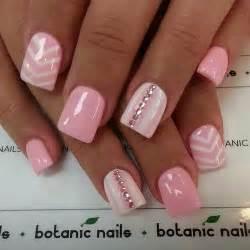 Best pink acrylic nail art designs