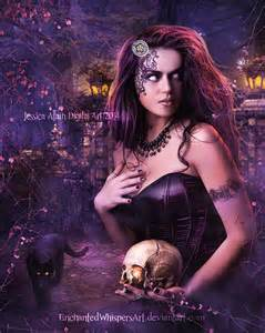 Beautiful Gothic Witch Art