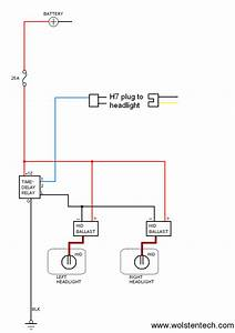 Diy Headlight Delay-off Function With A Relay Harness - Workshop Submissions