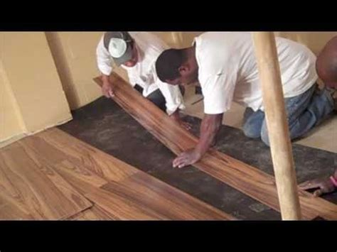 install laminate flooring youtube