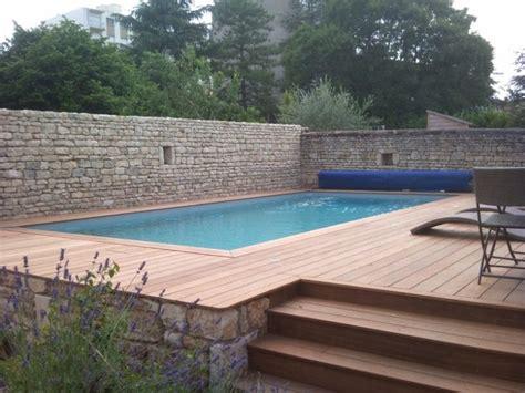 piscine bois semi enterree rectangulaire les 25 meilleures id 233 es concernant piscine semi enterree sur maisons sur mesure un
