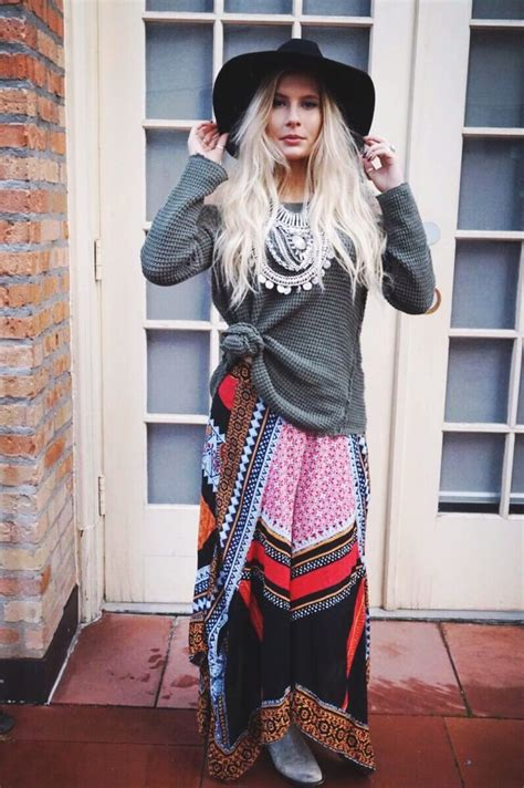 20 Winter Boho Outfit Ideas For Women u00b7 Inspired Luv