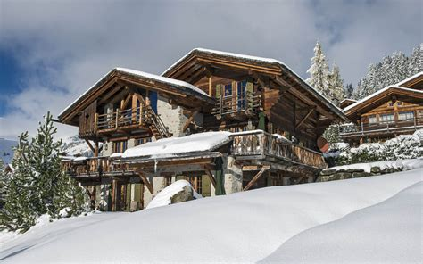 luxury ski chalet chalet les lutins verbier switzerland switzerland firefly collection