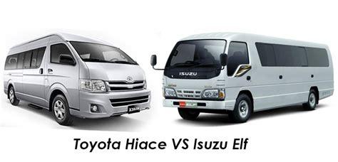 Mobil Toyota Hiace by Mobil Toyota Hiace Dan Isuzu Mana Yang Lebih Baik