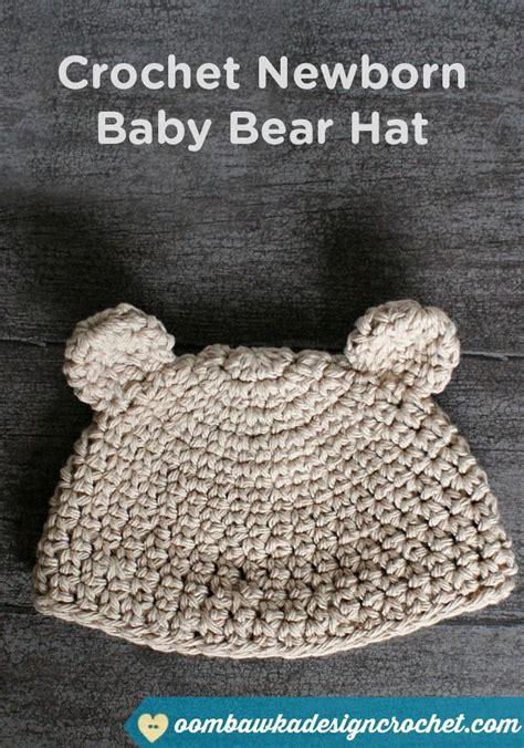 Easy Newborn Hat Crochet Pattern