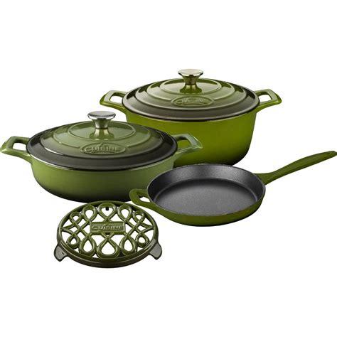 set cuisine la cuisine pro 6 enameled cast iron cookware set