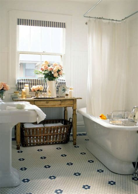 shorely chic vintage style bathroom party