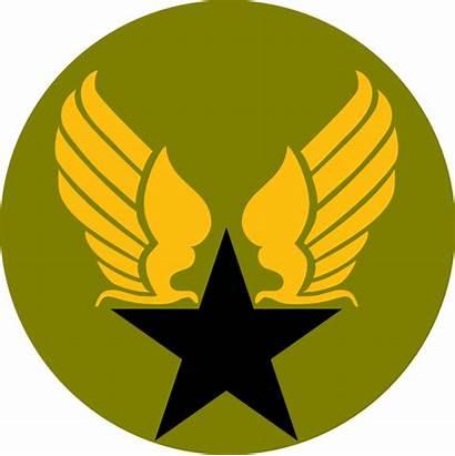 Army Military Clip Logos Clipart Vector Star