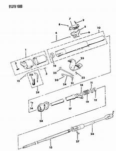 Jeep Comanche Steering Column Parts