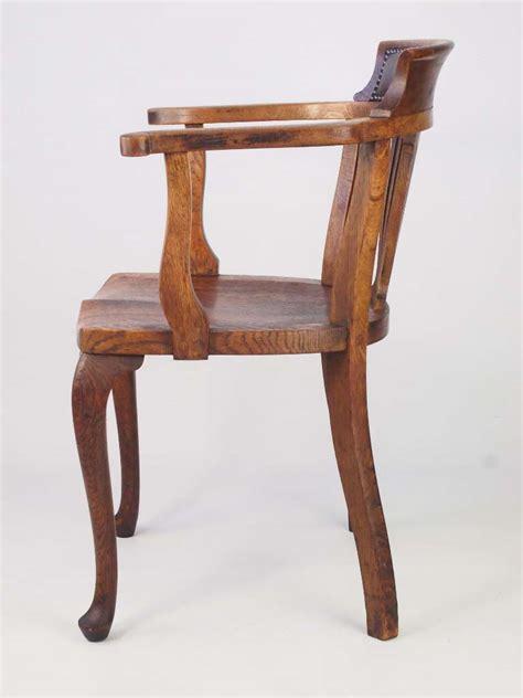 antique oak chairs vintage oak desk chair 1293