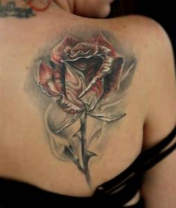Rose Tattoo Shoulder Blade - 1000+ Geometric Tattoos Ideas