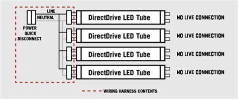 Lamp Wiring Harness For Led Tubes Tall Socket Keystone