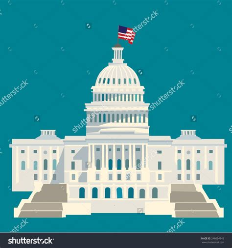 White House Clip White House Clipart Capitol Building Pencil And In Color