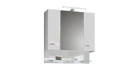 Badezimmer Spiegelschrank Weiß by Spiegelschrank Barolo Bad Schrank Spiegel Wei 223 Hochglanz